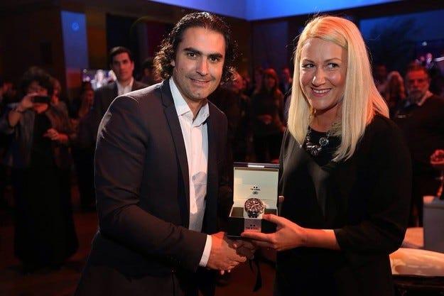 Eurosport награди официално Стратиева