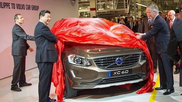 Volvo започва производството на XC60 в Китай