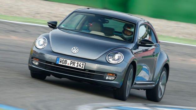 Модернизиран VW Beetle с нови мотори