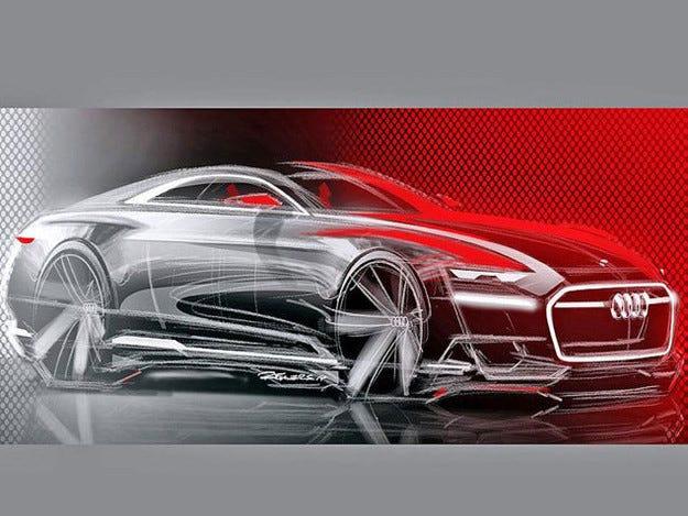 Audi  даде собствено име на концепта A9