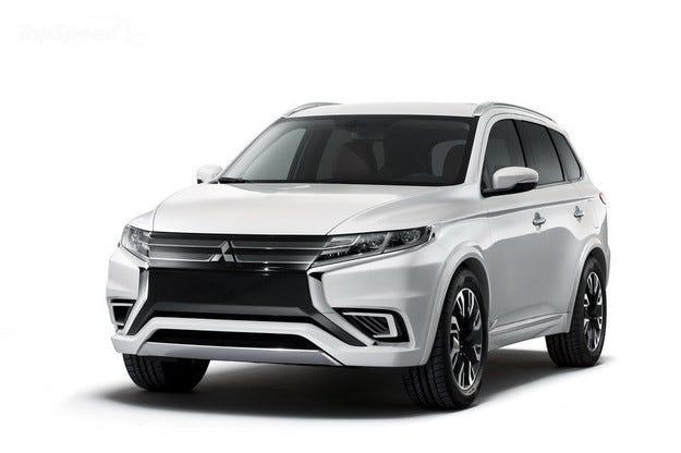 Обновеният Mitsubishi Outlander ще получи нов мотор