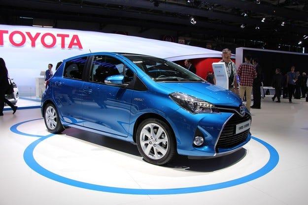 Toyota Yaris - най-произвеждан модел във Франция