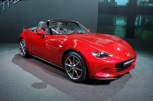 Mazda MX-5 може да открие път за наследник RX-8