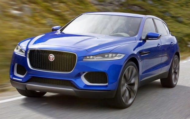 Jaguar се отказва от кросоувъра C-X17