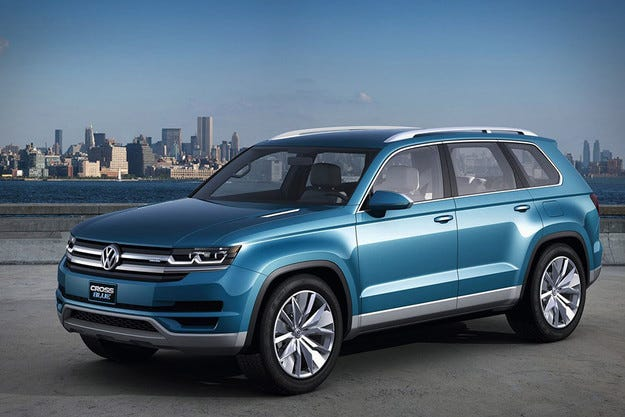 Volkswagen готви нов кросоувър на базата на CrossBlue