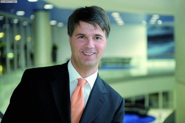 Харалд Крюгер e новият генерален директор на BMW