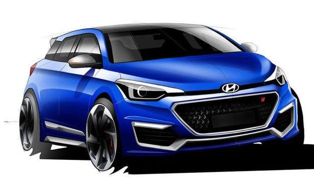 Hyundai i20 N Concept: Горещ малък модел с гени от WRC