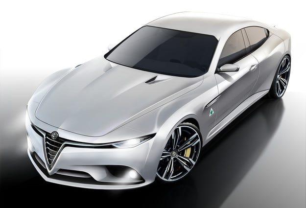 Alfa Romeo подготвя нови двигатели с голяма мощност