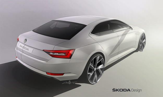 Третото поколение Skoda Superb остава лифтбек