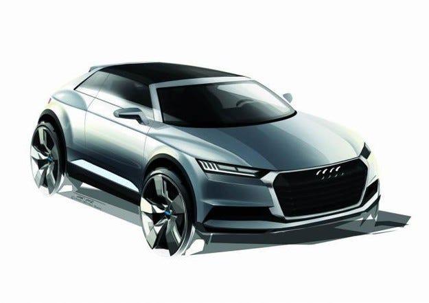Премиерата на новия кросоувър Audi Q1 през 2016 г.