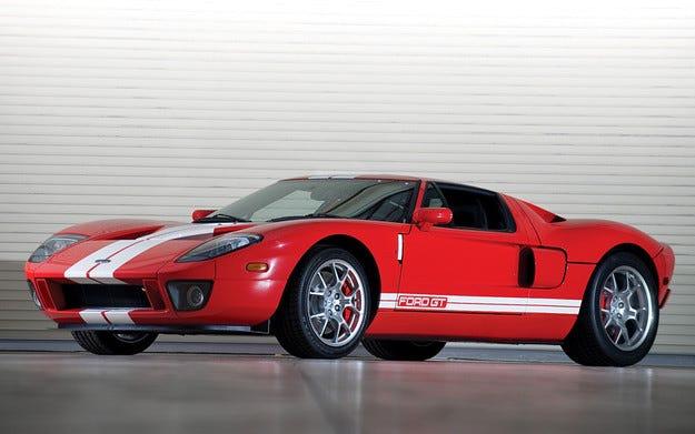 Ford регистрира логотип на възродения спортен модел GT
