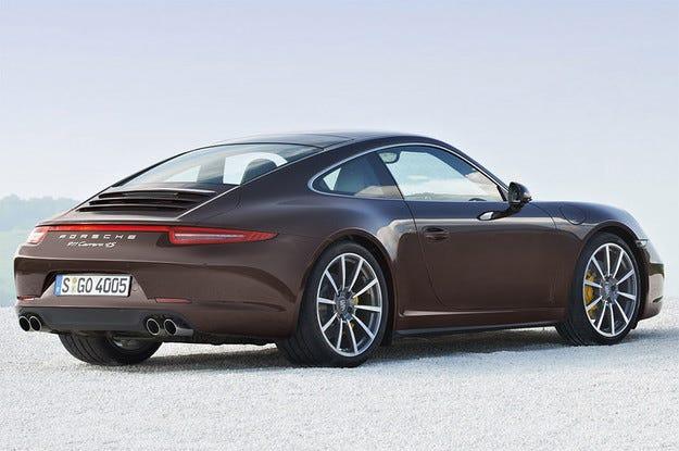 Porsche 911 може да получи хибридно задвижване