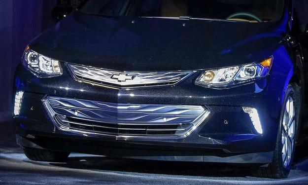 General Motors разкри новия Chevrolet Volt в Лас Вегас