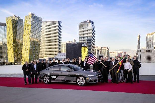 Автономният модел на Audi измина успешно 560 мили
