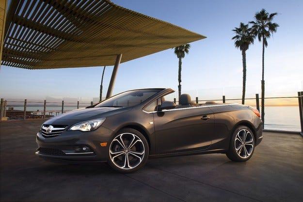 Buick Cascada: Разработен в Германия, произвеждан в Полша