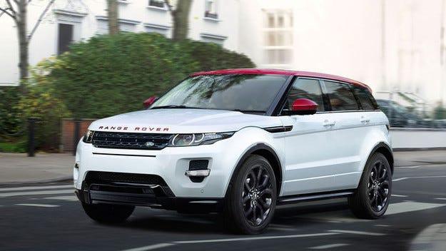 Специален Range Rover Evoque: Още по-аристократ