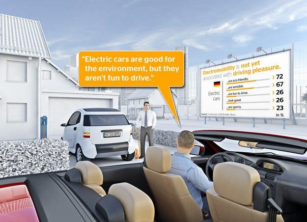 Continental: Електромобилите имат имиджов проблем