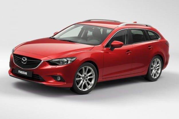 Обновената Mazda6 получава и двойно задвижване