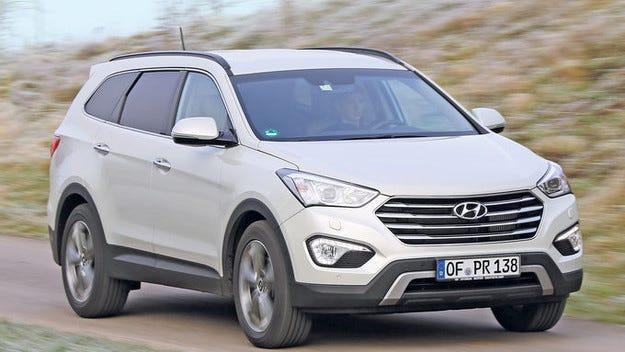 Hyundai Santa Fe: Повече удобства, цената същата