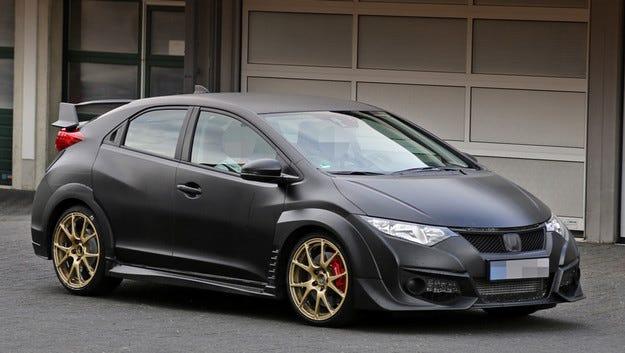 Honda представя новия Civic Type R през март 2015 г.