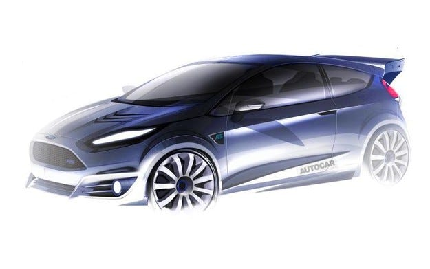 Ford разработва най-мощната модификация на Fiesta