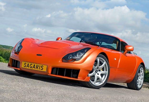 TVR ще възражда спортния британски модел Sagaris
