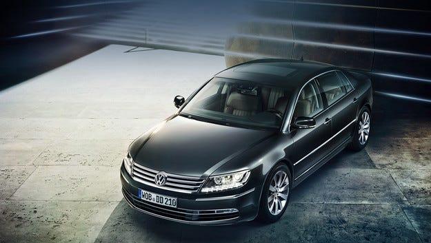 Volkswagen реши да остане в луксозния клас