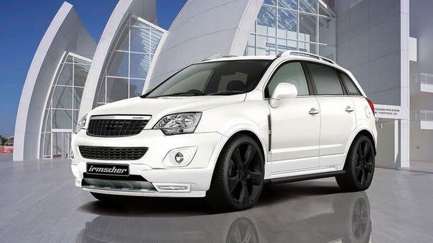 Irmscher Opel Antara is3: SUV с индивидуална нотка