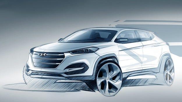Hyundai ще представи новия кросоувър Tucson след месец