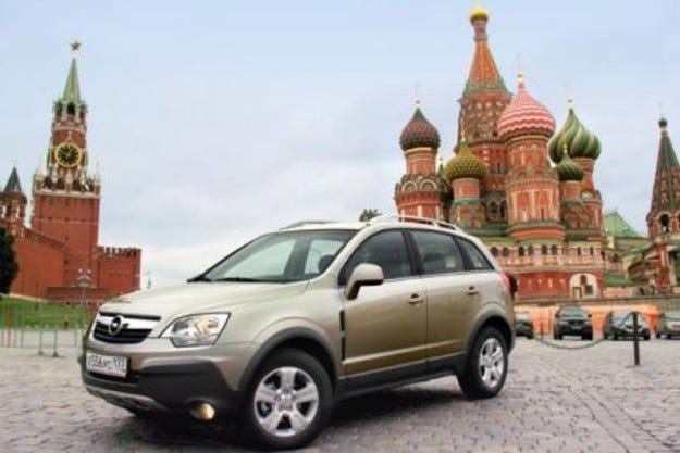 Opel Antara: Go East