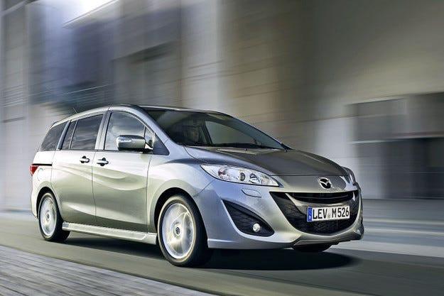 Спряха производството на минивана Mazda5