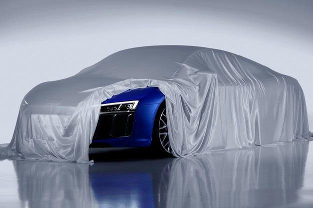 Audi ще представи в Женева спортния модел R8