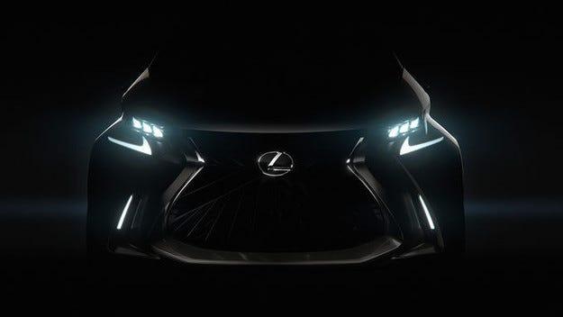 Lexus LF-SA на автомобилното изложение в Женева 2015