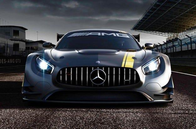 Mercedes представя наследника на SLS AMG GT3