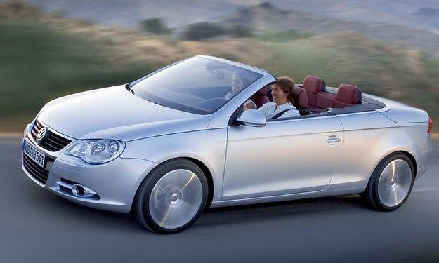 Кабриолетът VW Eos регистрира много слаби продажби