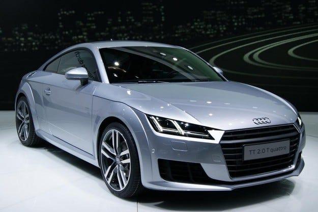 Новият Audi TT заслужи 4 звезди на краш теста Euro NCAP