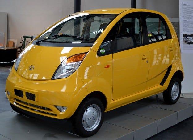 Следващото поколение на Tata Nano се нуждае от нов имидж