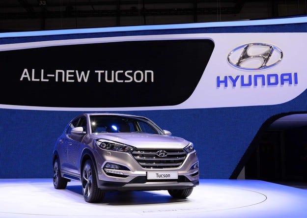 Hyundai показа в Женева Tucson/ix45