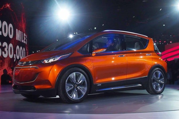 Компанията Ford подготвя конкурент на Chevrolet Bolt