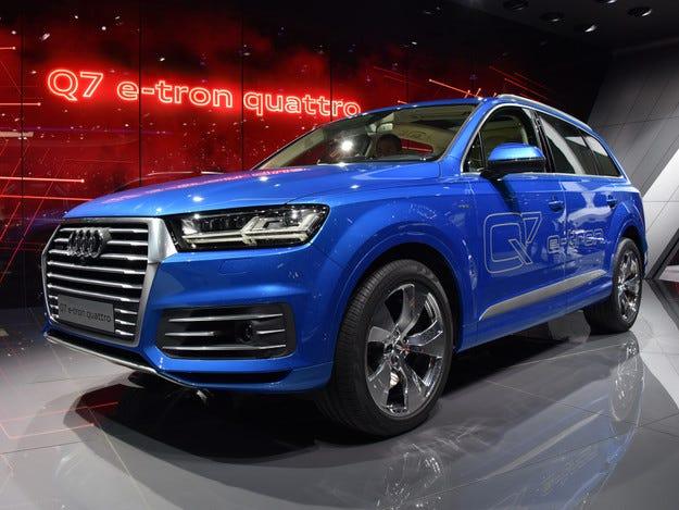 Audi Q7 ще бъде дизелов или бензинов плъгин хибрид