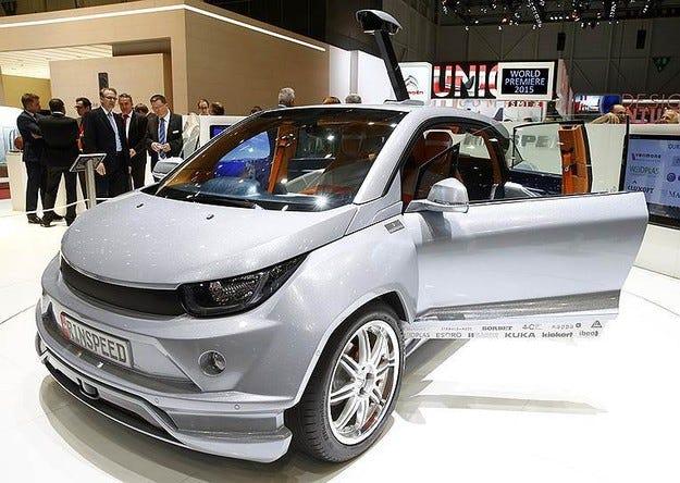 Безпилотните автомобили ще се окажат енергоемки