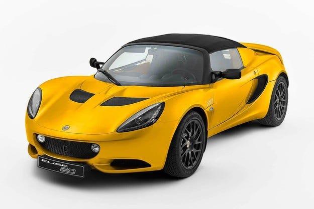 Lotus Elise пуска специална серия за 20-ата годишнина
