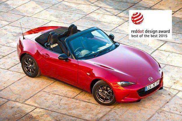 Три нови модела на Mazda с награди Red Dot 2015