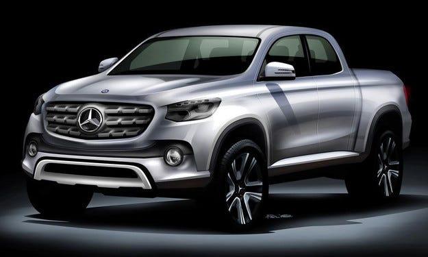 Първият пикап Mercedes ще ползва базата на Nissan Navara