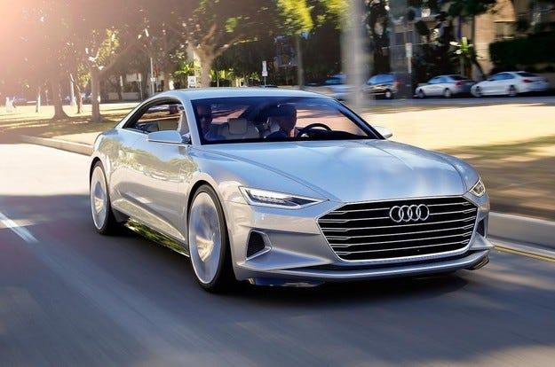 Audi Prologue представя офроуд версия на салона в Шанхай