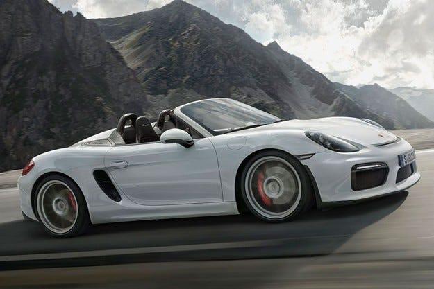 Porsche ще добави още мощност на Boxster Spyder