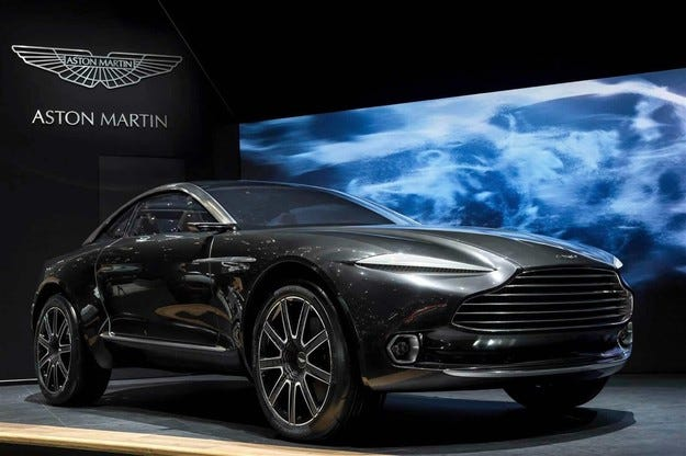 Aston Martin ще строи завод за кросоувъри в САЩ