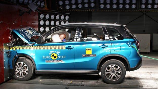 EuroNCAP проведе краш тестове с 4 модела по нова методика
