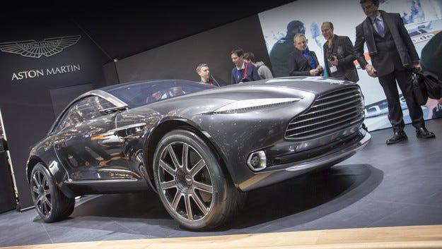 Aston Martin иска да произвежда модела DBX в Алабама