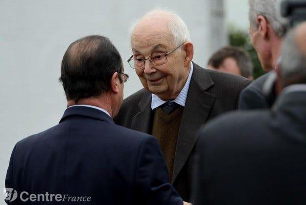 Франсоа Мишлен почина на 89-годишна възраст
